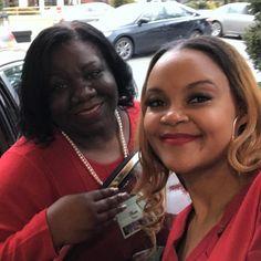 Me & The Prophyte! #foundersday #deltasigmatheta #blackgirlmagic #nccc