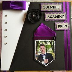 Prom layout - Scrapbook.com