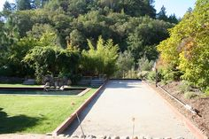 bocce court - the hubs is going to build one in our huge backyard