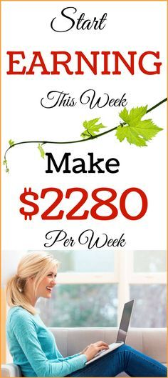 Make money online this week! Step by Step guide for beginners! Simplest way to make money from home! Start earning $2280 per week! Want to see the money ....Click the pin and see it now >>>