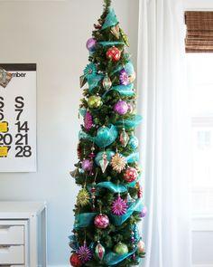 eaf769f164d2d Decoracion de navidad ideas para decorar casas pequeñas. Árbol De Navidad  DelgadoAdornos Navideños ...