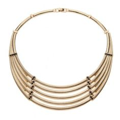 Diva, Golden Multi Row Collar