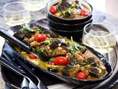 Recipe: Aubergine and Chickpea Curry - Viva