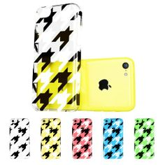 Amazon.com: ESR the Beat Series Hard Clear Back Cover Snap on Case for iPhone 5C (Polka Dots): Cell Phones & Accessories