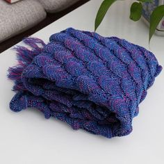Mermaid Tail Blanket - Purple -Sold Out