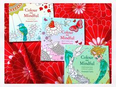 Beautiful new #colourmemindful books! Thanks @orionbooks @charlieinabook  I can't wait! @acatris