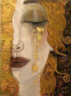 Gustav Klimt - Pleure (Vienne 1900)