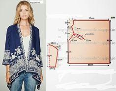 Lupes Jeans: kimono de invierno