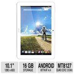 Acer Iconia Tab 10 A3-A20-K1AY 10.1-Inch HD Tablet (Android 4.4 KitKat)