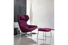 Metropolitan '14 Swivel Armchair by Jeffrey Bernett for B&B Italia