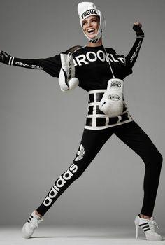 Adriana Lima by Steven Meisel for Vogue Italia Julne 2014