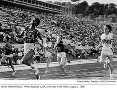 1960 #Olympics: Wilma Rudolph 100m