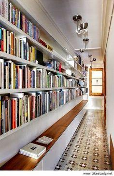 blog de decoração - Arquitrecos: Circulações biblioteca - Espaços multiuso em apena...