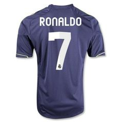 Christiano Ronaldo Camiseta del Real Madrid Away Soccer Jersey (US Size: M) Basketball Jersey, Soccer Cleats, Soccer Players, Soccer Jerseys, Madrid Soccer Team, Real Madrid Cristiano Ronaldo, World Soccer Shop, Simply Southern Tees, No Plastic