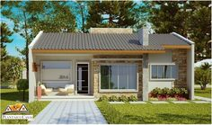 304A – plantas de casas – front 1
