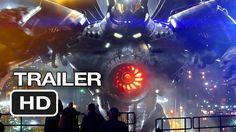 Pacific Rim Official Wondercon Trailer (2013) - Guillermo del Toro Movie HD...listen to this voice SOA fans!