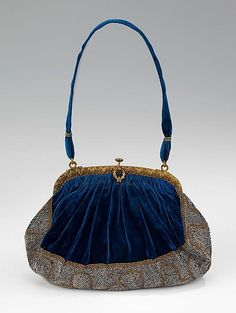 1910 г. Вечерняя сумочка. Франция. Evening bag, French. 1910