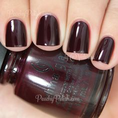 China Glaze Conduct Yourself | Fall 2014 All Aboard Collection | Peachy Polish