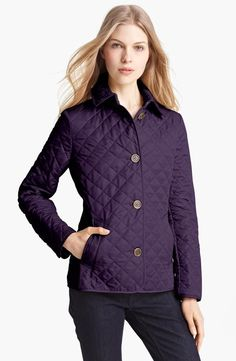 Quilted Jacket = classic style