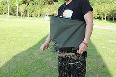 KOBOLD Made Patent NO ZL 201630321785.2 Outdoor Nylon Handheld Seed Bag Deicing Salt Fertilizer Spreader