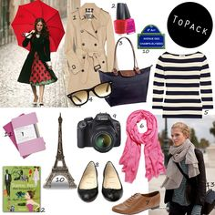 My Capsule Packing Wardrobe List: Paris  If I ever go then I'll know what to bring...