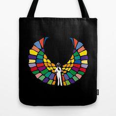 Angel of Death Tote Bag by Joe Pansa - $22.00