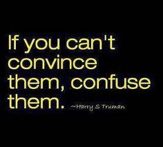 Convince // confuse