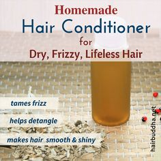 This homemade conditioner recipe is very simple. Made with just one ingredient, it does everything that a good conditioner is supposed to do. It nourishes and detangles hair, seals in moisture, and leaves hair looking soft, bouncy and lustrous. How To Make Conditioner, Homemade Hair Conditioner, Homemade Shampoo, Homemade Products, Homemade Facials, Homemade Beauty, Diy Beauty, Beauty Tips, Natural Hair Shampoo
