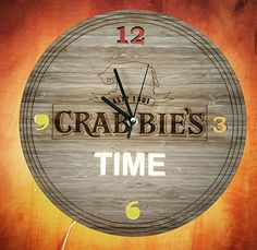 We did some corporate gifting for Halewood this past week on 2 of their awesome brands! #crabbiestime  #crabbies #halewood #crabbiesgingerbeer #beer #brewery #corporategifting #lasercut #wallclock #light #bar #barlight #nightlight #party #bamboo #wood #time #promotional #custom #design #elliphant #england #southafrica #wearethemakers #capetown #pringlebay #hallojane