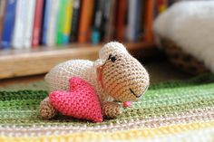 Ravelry: Squeezable Sheep pattern by Tracey MacIntyre, awww love it! thanks so  for this beauty xox