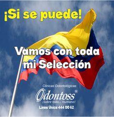 Si, si Colombia... ¡Se puede, se puede!