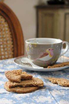 tea and biscuits-love the teacup