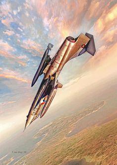 ♂ Aircraft #plane #wings #transportation 916 Starfighter