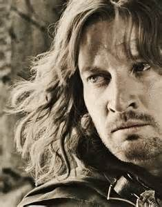 Faramir, Prince of Ithilien and Steward of Gondor.  The Lord of the Rings