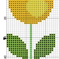 Plastic Canvas Box Patterns, Tapestry Crochet, Needlepoint, Cross Stitch Patterns, Florals, Crafts, Punto De Cruz, Dots, Floral