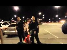 Oklahoma police beat Luis Rodriguez to death in front of theater in front of wife & daughter