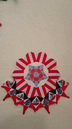 La passacaglia millefiori rosette by Izy Denham