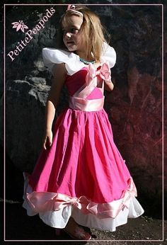 Custom Pink Cinderella Costume size 2T up to 8 by petitepeapods