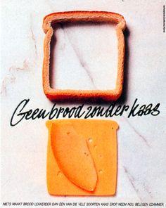 Read more: https://www.luerzersarchive.com/en/magazine/print-detail/17751.html Not bread, but cheese. Tags: Hans Kroeskamp,Prad, Amsterdam,Nederlands Zuivelburo,Cees Van Asperen,Klaas Slooten