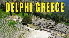 Visit To The Delphi Museum In Athens Greece