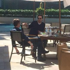 Colin and Sean in Brazil