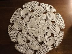 Ravelry: table topper in 3D pattern by Cindi Edwards