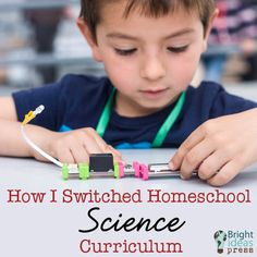 How I Switched Homeschool Science Curriculum