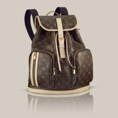 Louis Vuitton Bosphore Rucksack Monogram Canvas
