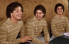 The incredible true story of triplets separated at birth and reunited years later unfolds in the documentary 'Three Identical Strangers' Bizarre Stories, Weird Stories, True Stories, Parent Trap, The New Yorker, Bobby, Kino Box, Nature Vs Nurture, The Incredible True Story