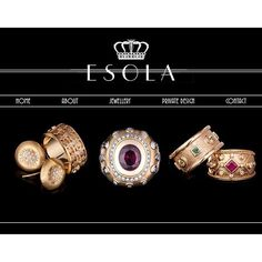 Our beautiful website is now LIVE! Check it out for yourself at esola.com.au ❤️✨ #esola #website #online #jewellery #design #gold #diamonds #cottesloevillage #perthstyle #perthbride #engagement #rings #webdesign #jewels #wedding #ruby #whitegold