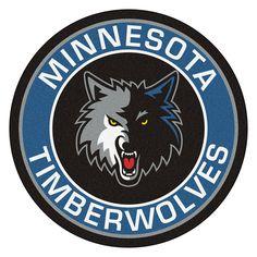 Minnesota Timberwolves Roundel Mat
