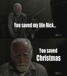 Hershel #twd #christmas #hershel