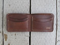 Handmade Leather Bifold Wallet