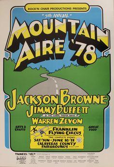 Jackson Browne 1978 Sonoma Rock Posters, Music Posters, Concert Posters, Jackson Browne, Gig Poster, Rock Concert, Best Rock, Project 3, Classic Rock